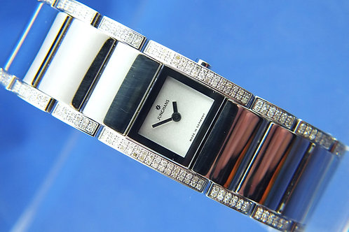Junghans Lady Nova Quartz Watch 047/3621 . Full Diamonds & Stainless