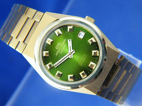 Jaquet Girard Automatic Watch . Circa 1970s , Swiss ETA 2783 25 Jewel. NEW OLD