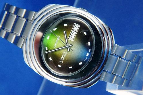 Diarex Automatic Swiss Mens Watch , Circa 1970s . Cal ETA 2789 . Stunning Dial