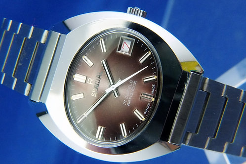 Spacial Swiss Mechanical Wind Up Watch . New Old Stock , Circa 1970s