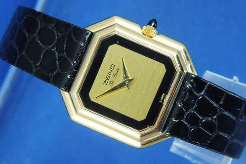 Zeno Swiss Mechanical Ladies Dress Watch . Circa 1970s , Old Stock . ETA 2512-1