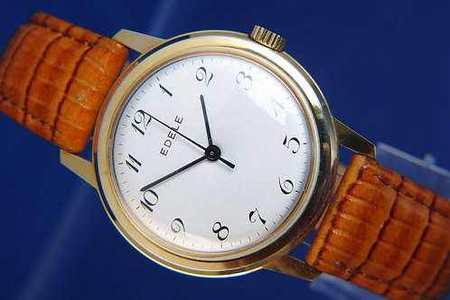 Edele Swiss Mechanical Watch . Circa 1960S Brand New Old Stock