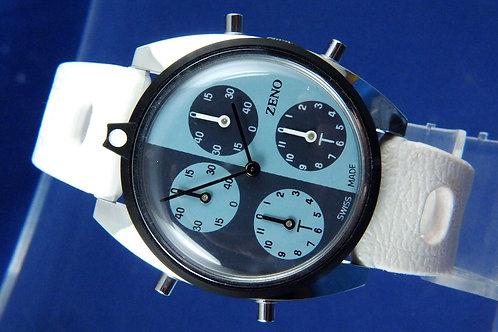 Zeno Tennis Watch . Swiss Mechanical Wind Up . NOS 1970s . Cal AS 1977-2