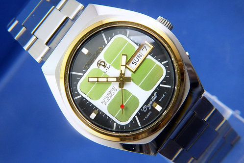Tressa Lux Automatic Swiss Watch . Circa 1970s . NOS Cal AS 5206-2