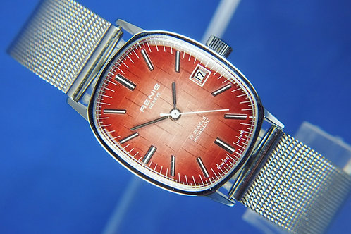 Renis Swiss Gents / Ladies Mechanical Watch . Circa 1960S . Brand New Old Stock