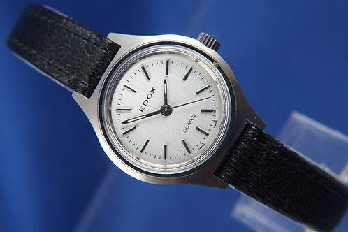 Edox Swiss Quartz Ladies Watch . Circa 1970s , New Old Stock