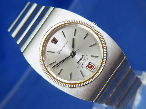 Omega Constellation Electroquartz f8192Hz Watch,1970s . Excellent Used Condition