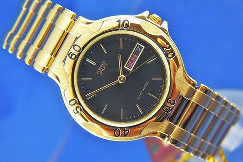 Citizen Retro quartz Watch . Divers Style . Circa 1980s , New Old Stock