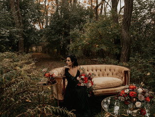Spooky but Beautiful Halloween Wedding Inspiration