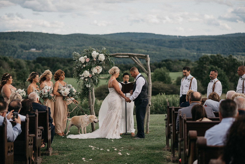 Vintage Glam Gilbertsville Farmhouse Wedding featured on Pretty Little Vintage Co.
