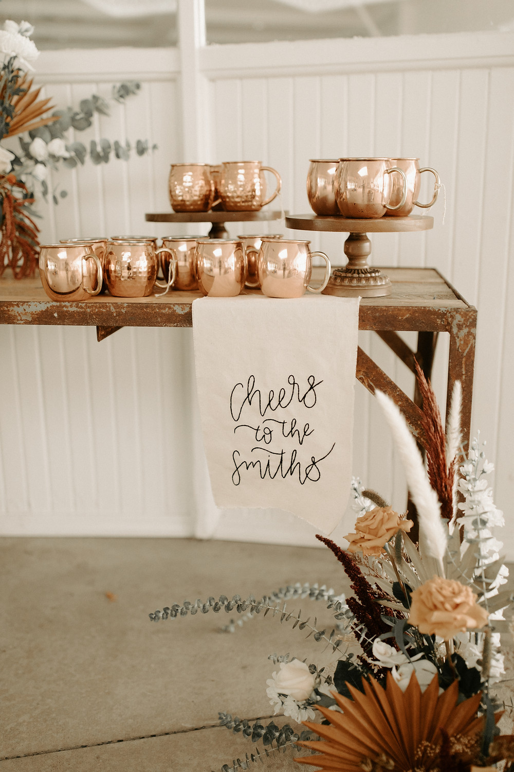 Moscow mule wedding bar