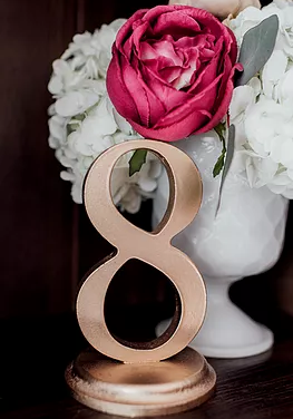 Free Standing Laser Cut Table Numbers