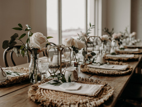 Earthy & Boho Bridal Shower Inspiration with Pretty Little Vintage Co.