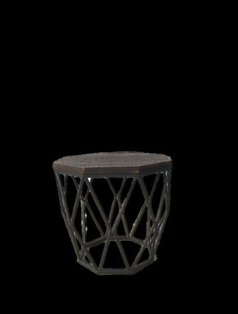 Diamond Insutrial End Table