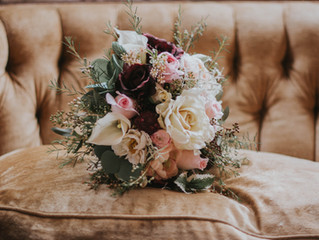 Bridal Bouquets On Our Pretty Little Vintage Pieces - Our Favorite Detail Shots of All Time.