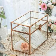 Rose Gold Card Box