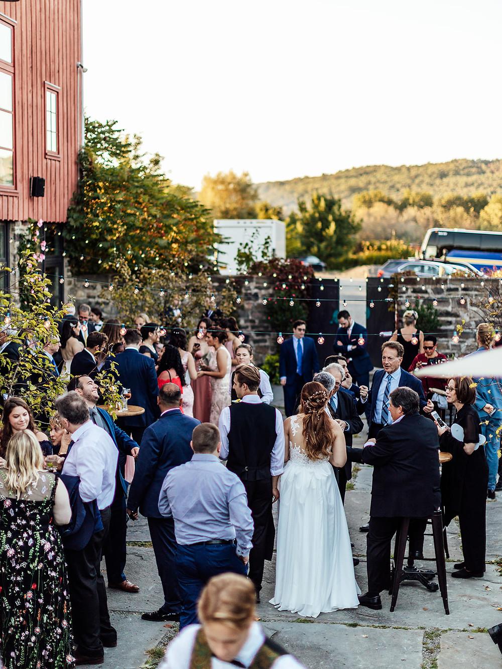 Vintage Glam Barn Wedding at The Treman Center