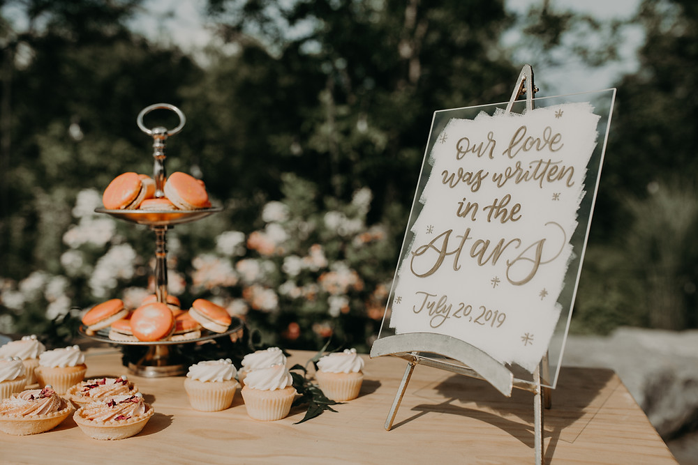Acrylic wedding sign: Boho TerraCotta Wedding Styled Shoot at Red Barn 20