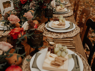 Holiday Table Top Rental Packages by Pretty Little Vintage Co. - Style Your Holiday Table with Love.