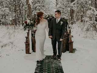 Copy of A Snowy Winter Wonderland Christmas Elopement in Upstate New York