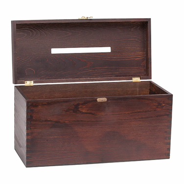 Walnut Plain Card Box