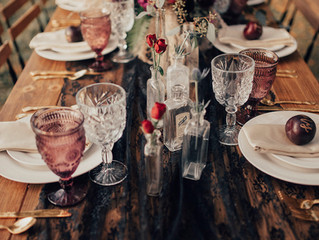 A Hauntingly Beautiful Halloween Wedding Styled Shoot in a Sackets Harbor Cemetery in Upstate New Yo