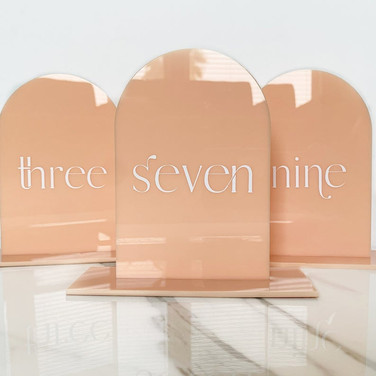 Full Arch Table Numbers