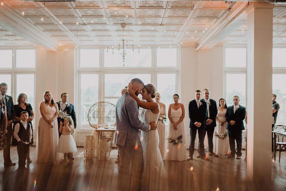 Modern Boho Wedding at The Lincoln Loft