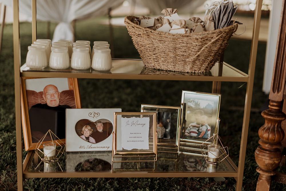 In-loving memory wedding inspiration