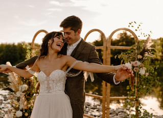 Vintage Fall Wedding Inspiration at The Maples Estate in Schoharie, NY