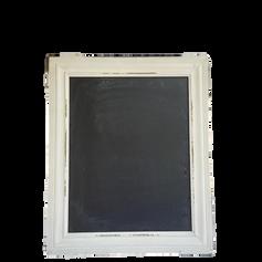 White Rectangle Chalkboard