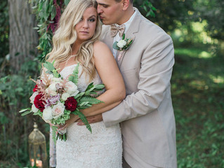 Vintage and Woodsy - An Intimate Upstate New York Wedding Styled Shoot