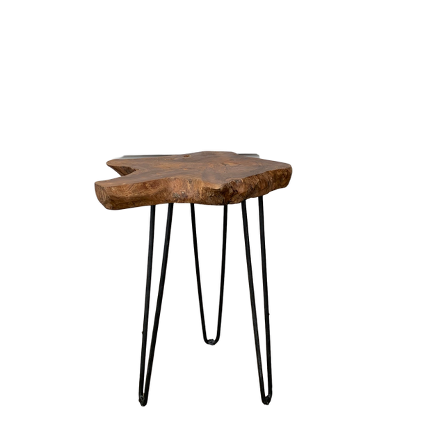 Natural Edge End Tables