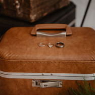 Vintage Suitcase Card Box