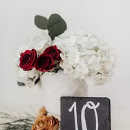Square Slate Table Numbers