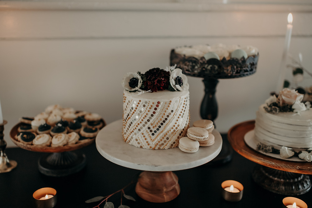 Wedding cake table inspiration