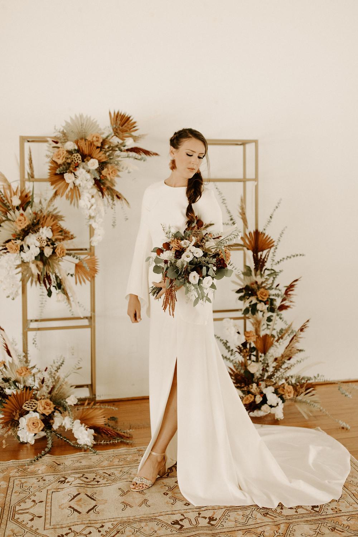 Boho bridal inspiration