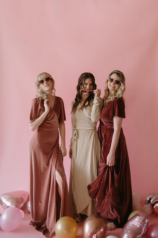 Elegant & Fun Galentine's Day Inspiration   Pretty Little Vintage Co.