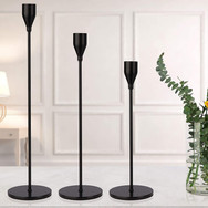 Black Modern Candlesticks