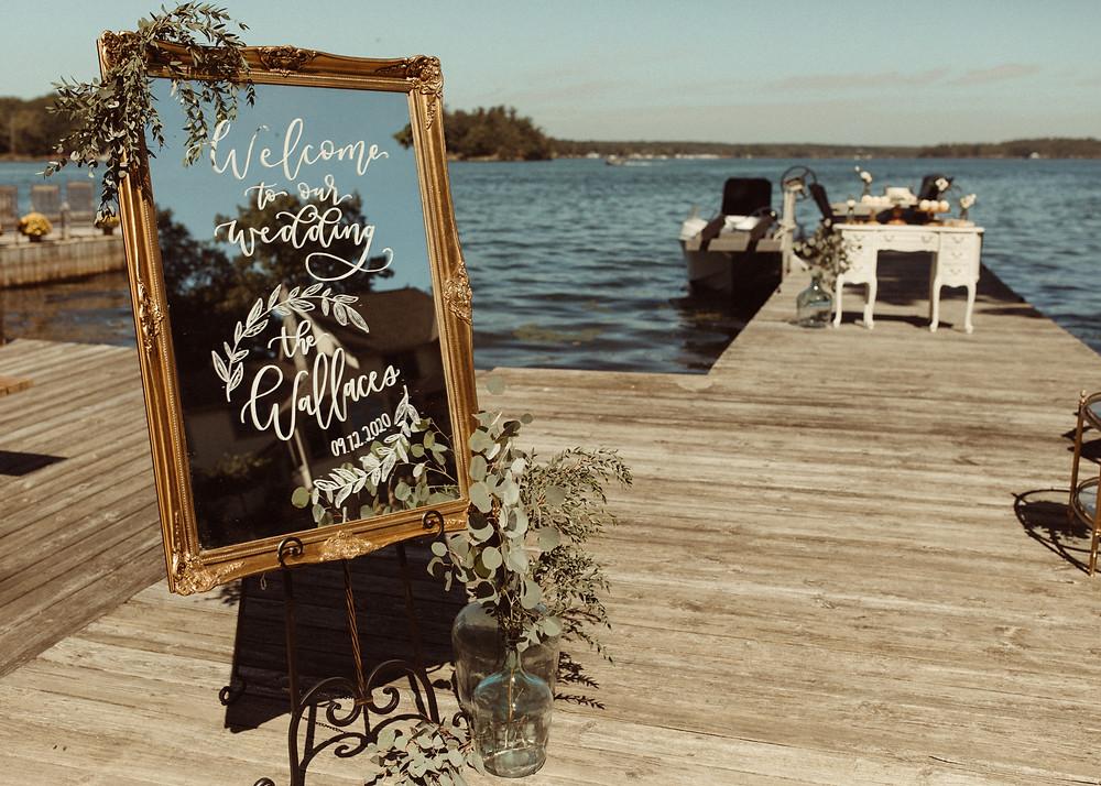 Al Fresco Wellesley Island Wedding on the River | Pretty Little Vintage Co.