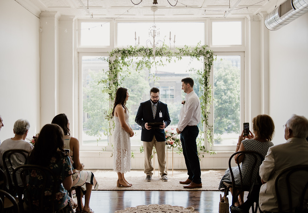 Sweet & Intimate Elopement at The Lincoln Loft