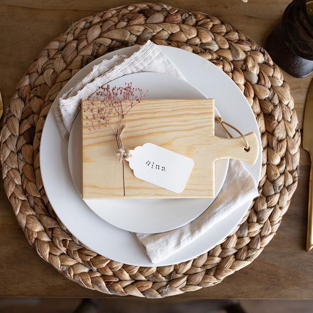 Wooden Mini Charcuterie Boards