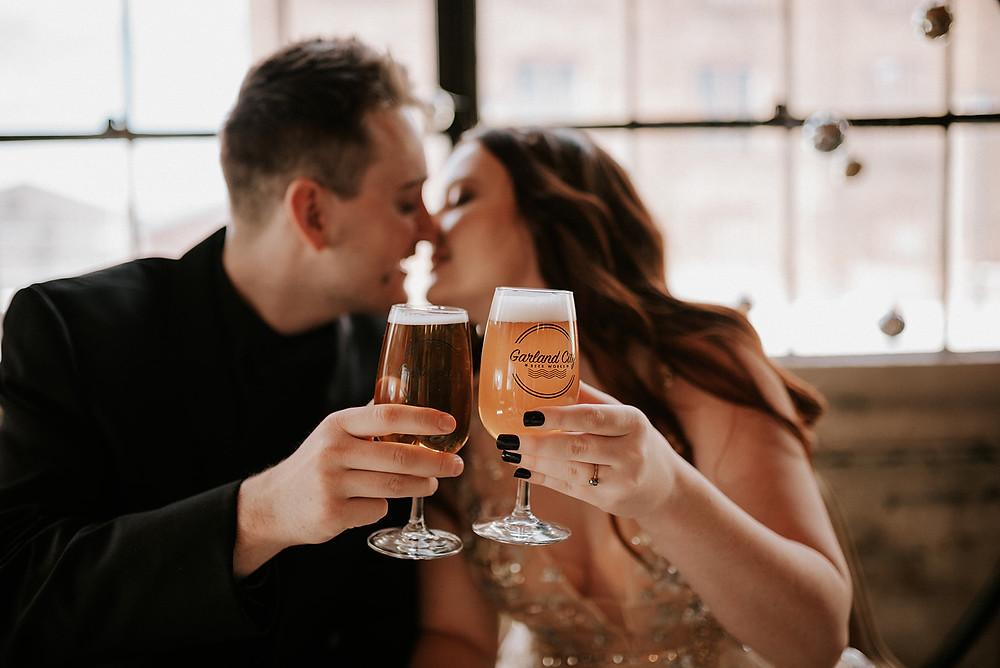 Celestial Wedding Inspiration at Garland City Beer Works