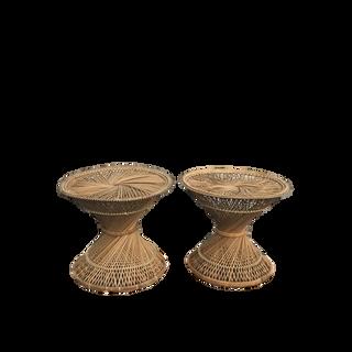 Rattan Circular Table