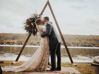 Romantic Waterfront Wedding at Keuka Lake