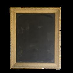 Large Gold Framed Chalkboard