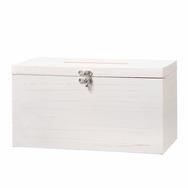 White Wooden Box