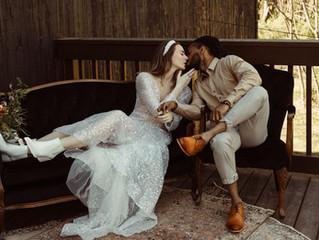 Rustic Kester Homestead Wedding Styled Shoot with Orange Hues