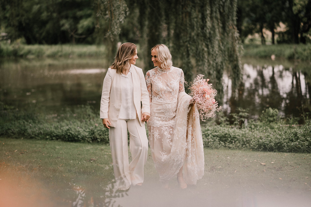 Dreamy Pink Bohemian Wedding Inspiration at The Maples Estate