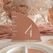 Peach Arch Table Numbers